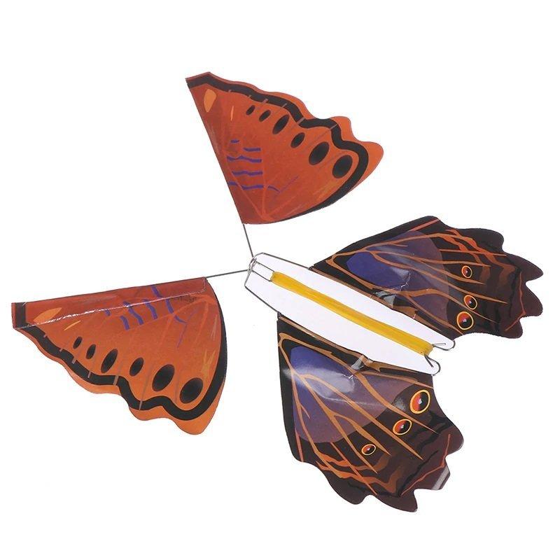 rethyrel Magischer Fliegender Schmetterling Hochwertiger Kunststoff Magischer Fliegender Schmetterling Lebhaft flatternder Fliegender Schmetterling Zauberrequisiten f/ür /Überraschungen